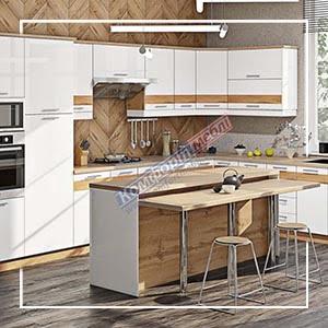 """Кухня """"Фарбований високий глянець із друком"""" KX-6739"""