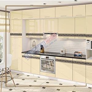 """Кухня """"Фарбований високий глянець із друком"""" KX-6740"""