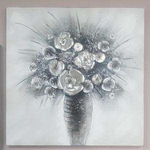 Картина квіти у вазі
